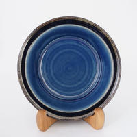 縁付深皿(6.5寸/約19.5cm)呉須(10)