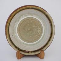 縁付き皿(8寸/約24cm)灰
