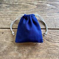 巾着袋(小) 紺 (18-2)