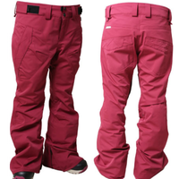15-16 SP-design WP-02 ウィメンズVIVID PANTS (WINERED)