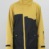Women's Soar Jacket  《マスタード×ブラック》Sサイズ