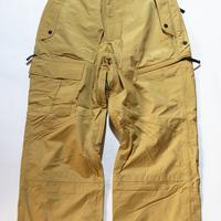 GORE-TEX®️お洒落なマスタードカラーの太めストレートカーゴPants