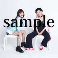 【HAY】長谷川愛 × 長谷川唯 生写真2