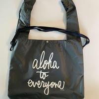 aloha to everyone マーケットバック (オリーブ)