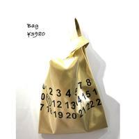 ビニールバッグ(ゴールド)