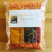 黄色いレンズ豆のカレーキット
