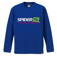 SPIDERロングTシャツ SP-LT01/ロイヤルブルー
