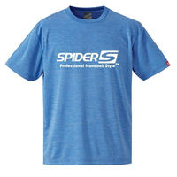 スパイダーハンドボールTシャツSP-SPRT01HBW/ヘザーブルー
