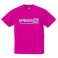 スパイダーハンドボールTシャツSP-SPRT01HPS/ホットピンク