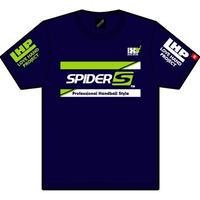 スパイダーハンドボールTシャツSP-TSL-NNGW/ネイビー