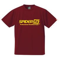 スパイダーハンドボールTシャツSP-SPRT01BY/バーガンディー