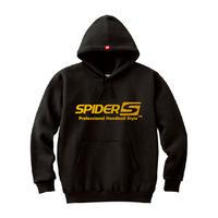 SPIDERハンドボールフーデッドパーカ SP-SPW01  ブラック×ゴールド