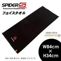 SPIDER フェイスタオル ブラック