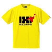 パラクロハンドボールTシャツ PCTS-03/イエロー