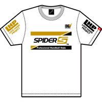 スパイダーハンドボールTシャツSP-TSL-WGB/ホワイト