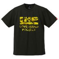 SPIDER/LHPハンドボールTシャツ SP-T09  ブラック×迷彩D