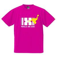 パラクロハンドボールTシャツ PCTS-03/ホットピンク