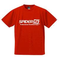 スパイダーハンドボールTシャツSP-SPRT01RB/レッド