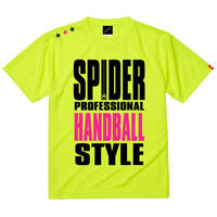 REAL SPIDERハンドボールTシャツ SP-T01   ネオンイエロー