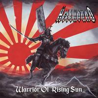 "HELLHOUND ""Warrior of Rising Sun"" (Japan Edition + obi +  bonus cassete)"