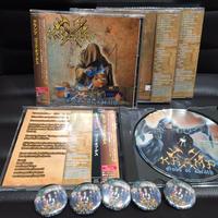 "KRAMP ""Gods Of Death"" (Japan Edition + obi)+ Special Gift-pin"