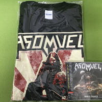 "ASOMVEL ""World Shaker"" (Japan Edition + obi) + ASOMVEL T-shirt"