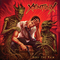 "XENTRIX ""Bury the Pain""(Japan Edition + obi)"
