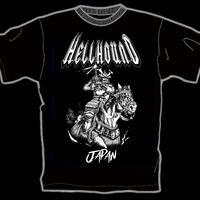 "HELLHOUND ""Warrior of Rising Sun"" (Japan Edition + obi + T-shirt)"