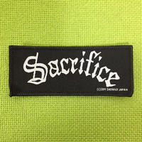 "SACRIFICE ""logo"" Official Patch"