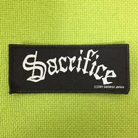 """SACRIFICE """"logo"""" Official Patch"""