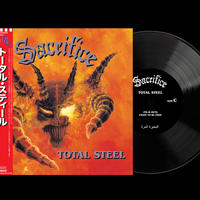"SACRIFICE ""Total Steel""(Japanese obi + Total Steel sticker)"