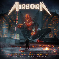 "AIRBORN ""Lizard Secrets 〜Part Two - Age Of Wonder〜""(Japan Edition + obi)"
