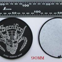 "SACRIFICE ""Crest Of Black"" Official Patch (Circle)"