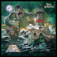"GAMA BOMB ""Sea Savage"" (Japan Edition + obi)+ Special Gift CD-R2020"