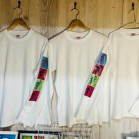 TAROOデザイン ロングTシャツ サイズM