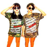 迷彩ドライTシャツ