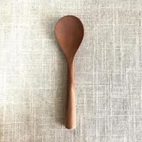 山梨の木工職人 玄能さんのデザートスプーン