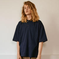 OVER SIZED POLO【BLACK】 L221