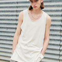 LAYERED TANK TOP【BEIGE】 L116