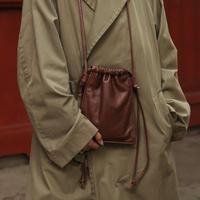 KIP SHOULDER BAG【BROWN】L251