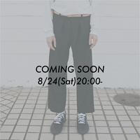 復刻VIERA WIDE SLACKS【BLACK】 L210