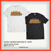 "PUNPEE ""SEASONS GREETINGS'18"" T-SHIRT"