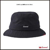 SUMMIT LOGO刺繍 Bucket Hat(BLACK)