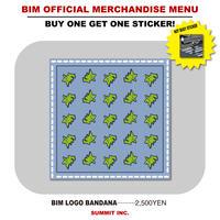 BIM LOGO BANDANA【NOT BUSYステッカー付】