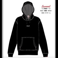 SUMMIT LOGO 刺繍パーカー (BLACK) ※受注販売【発送期間 12月中旬〜後半】