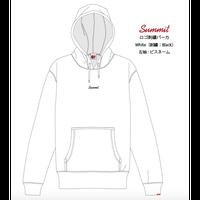 SUMMIT LOGO 刺繍パーカー (WHITE) ※受注販売【発送期間 12月中旬〜後半】