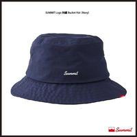 SUMMIT LOGO刺繍 Bucket Hat(NAVY)