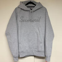 SUMMIT Reflector Logo Hoodie (Grey)【受注期間10/31(土)23:59まで・11月中旬〜発送予定】