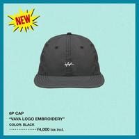 VaVa LOGO刺繍 6パネル CAP(BLACK)