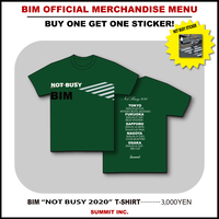 "BIM ""NOT BUSY 2020"" T-SHIRT"